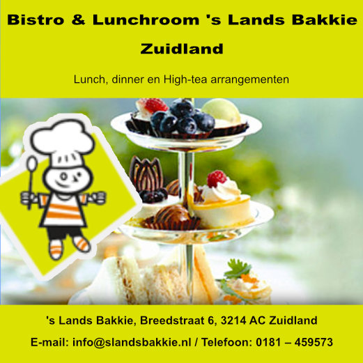 Bistro & Lunchroom 's Lands Bakkie